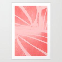 Rose morph Art Print