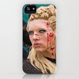 Lagatha Shield Maiden Painting iPhone Case