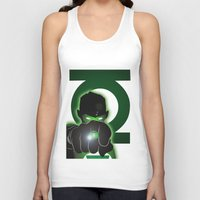 green lantern Tank Tops featuring Green Lantern by Adam Surin Max