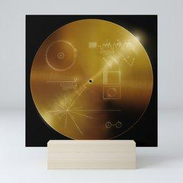 Voyager Golden Record Mini Art Print