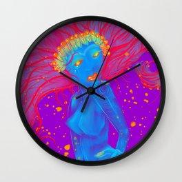 Spirit Leaf Wall Clock