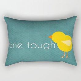 One Tough Chick Rectangular Pillow