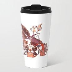 Cool Cats Metal Travel Mug
