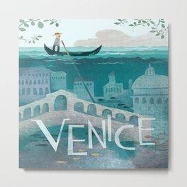 Vintage poster - Venice Metal Print