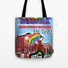 Commemorative Bangor PRIDE Festival 2013 Tote Bag