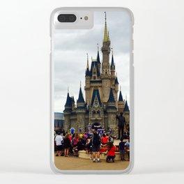 Cinderella's Castle Clear iPhone Case