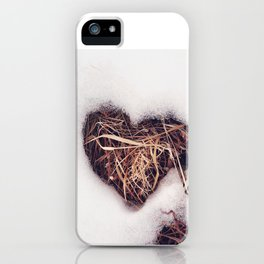 Love found in nature iPhone Case