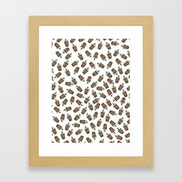 Bev Fresh Pattern Framed Art Print