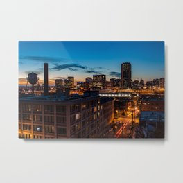 Richmond at Libby Hill Metal Print