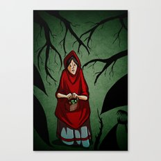 Lost in the Fog Canvas Print
