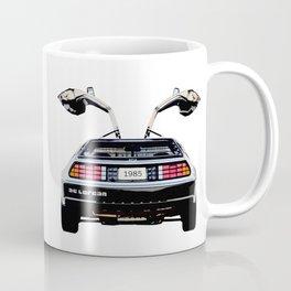 Vintage Back to the Future Car Coffee Mug