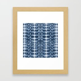 X-Ray Shibori Stripes Framed Art Print