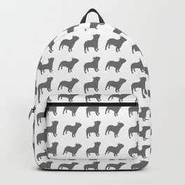 French Bulldog Pattern Backpack