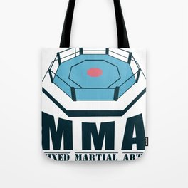 MMA Martial Arts Ring Competition Training Gift Tote Bag