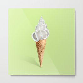 Sell ice cream Metal Print