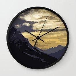 Peaceful nights Wall Clock
