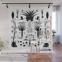 Abundance in Black Wall Mural