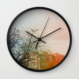 City Girls Wall Clock