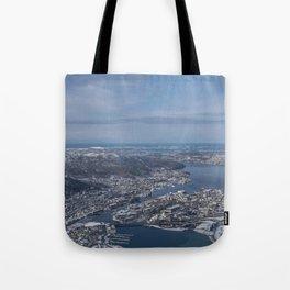 Winter City Tote Bag