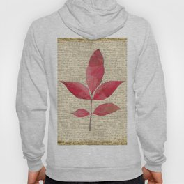leaves. floral picture for home decor. Abstract Art. Wall art decorative 4 Hoody