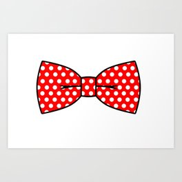 Bow-Tie Art Print
