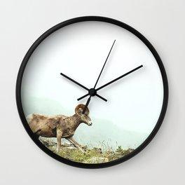 Mountain Ram Wall Clock