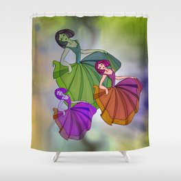 discofever -20- Shower Curtain