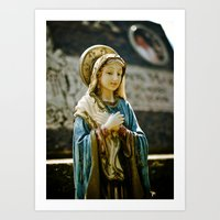 religious Art Prints featuring Religious beauty by Vorona Photography