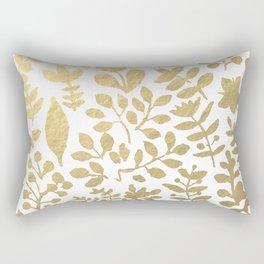 Botanica - gold Rectangular Pillow