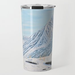 Mountain Lion in the Rockies Travel Mug