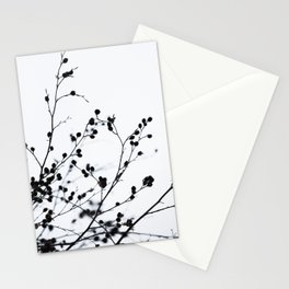 Winter Silhouettes 1 Stationery Cards