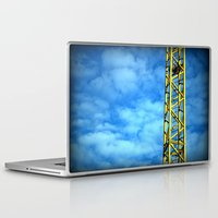crane Laptop & iPad Skins featuring Crane by Annabies