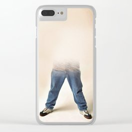 inviable man Clear iPhone Case