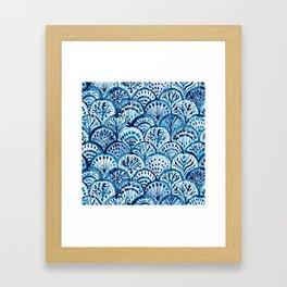 DEEP LIFE Mermaid Scales Framed Art Print