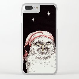 Good Night, Little Owl Clear iPhone Case
