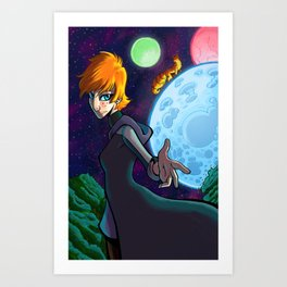 Those Who Travel on the Moon Art Print