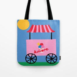 From Italy with Love Ice cream Tote Bag