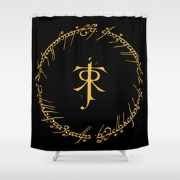 One Ring To Rule Them Shower Curtain