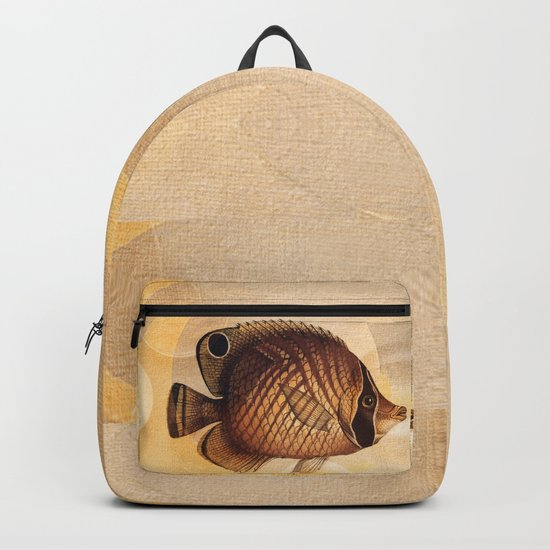 Fish Between Circles 3 Backpack