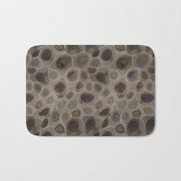 Petoskey Stone Bath Mat
