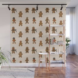 BDSM Gingerbread Wall Mural