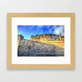 Edinburgh Castle Framed Art Print