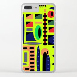 Crazy town Clear iPhone Case