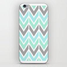 gray & blue navajo iPhone & iPod Skin