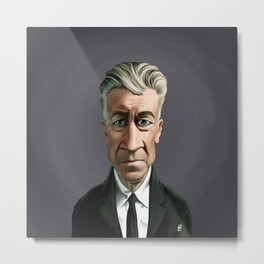Celebrity Sunday ~ David Lynch Metal Print
