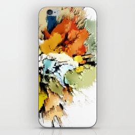 Color Blocks Explosion iPhone Skin