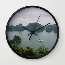 Ha Long Bay Islands Wall Clock