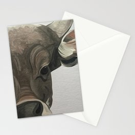 Lowland nyala Stationery Cards