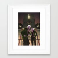 pacific rim Framed Art Prints featuring Cherno Alpha - Pacific Rim by Stephanie Kao