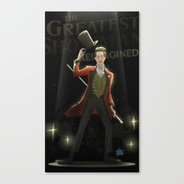 Panic! at the Greatest Show Canvas Print
